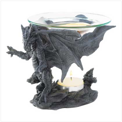 Home locomotion midnight dragon oil warmer oil burners drop shipping to your customers - Dragon oil warmer ...