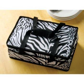 zebra casserole carrier