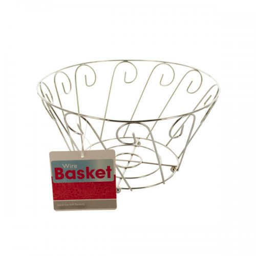 bulk buys 8in wire decor basket bulk home decor drop