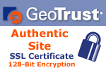 Site Security provided by Geotrust