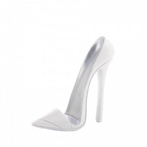 dazzling white shoe phone holder