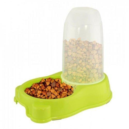 lime green pet feeder