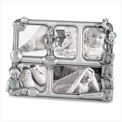 home locomotion pewter baby collage frame picture frames drop
