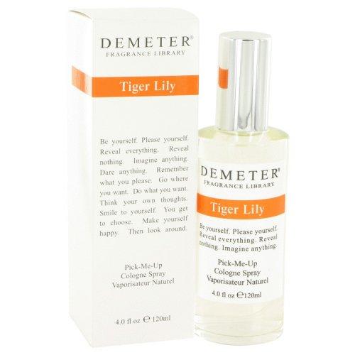 demeter by demeter tiger lily cologne spray 4 oz