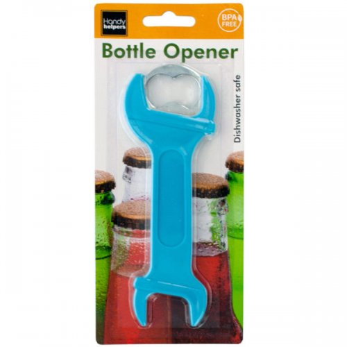 wrench shape bottle opener
