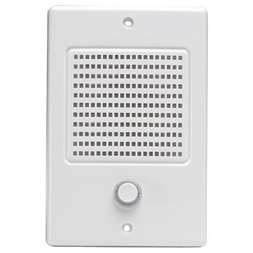 m&s systems door speaker with bell button