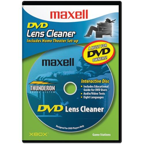 maxell dvd lens cleaner