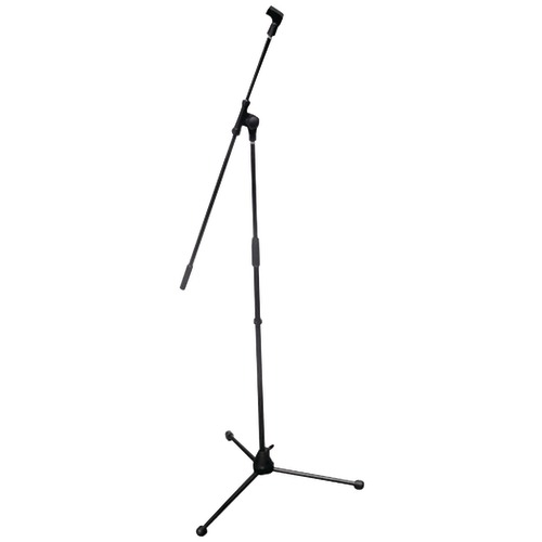 pyle pro tripod microphone stand with extending boom