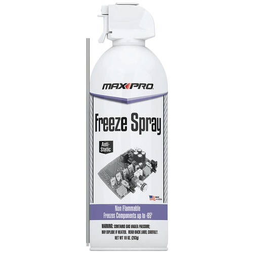 max pro freeze spray