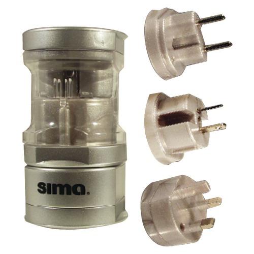 sima international compact travel power plug set