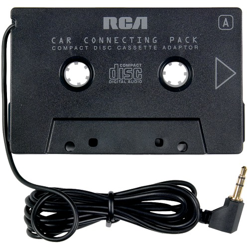 rca cd and auto cassette adapter