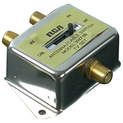 rca a and b slide switch