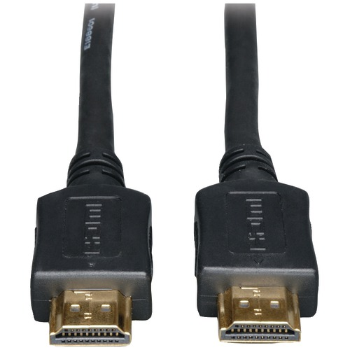 tripp lite ultra hd hdmi high-speed gold digital video cable (12ft)