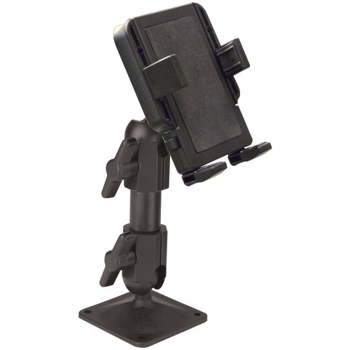 panavise products portagrip phone holder with 717-06 pedestal mount