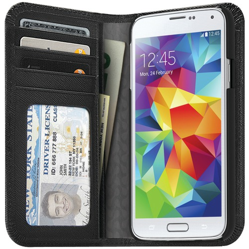 iluv samsung galaxy s 5 jstyle full grain leather wallet case