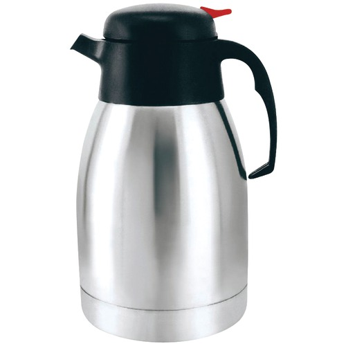 brentwood 1.2 liter vacuum coffee pot, stainless steel
