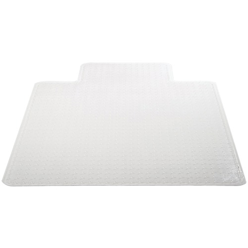 """deflecto chair mat with lip for carpets (36"""" x 48"""", medium pile)"""