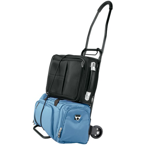 travel smart by conair flat-folding multi-use cart