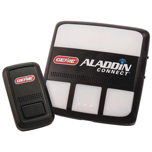 genie aladdin connect additional door position sensor