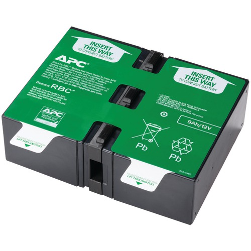 apc by schneider electric replacement battery cartridge #124