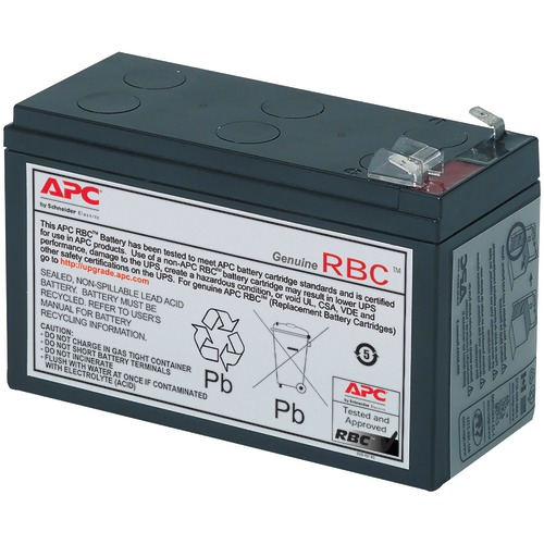 apc by schneider electric replacement battery cartridge #17