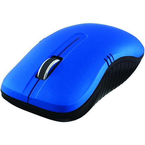 verbatim commuter series wireless notebook optical mouse (matte blue)