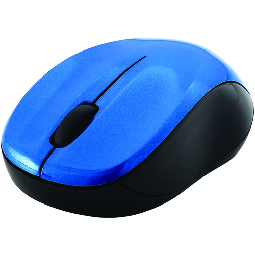 verbatim silent wireless blue led mouse (blue)