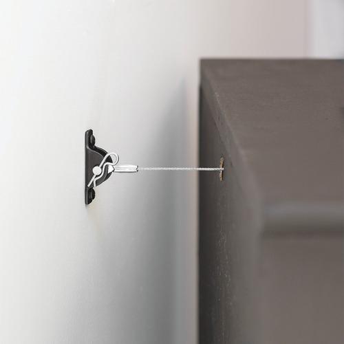 hangman all-steel anti-tip kit for furniture