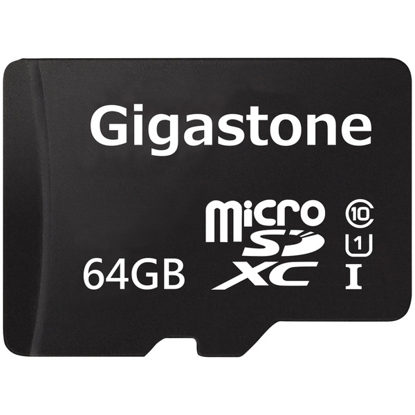 gigastone prime series sdxc card (64gb)