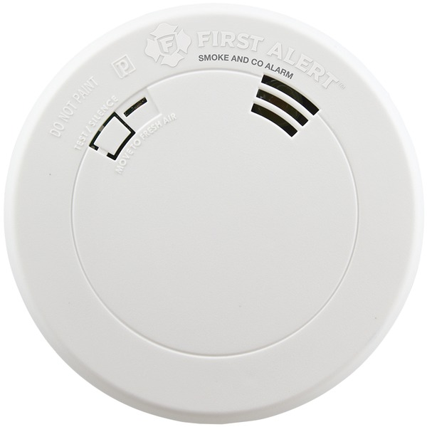 first alert smoke & carbon monoxide alarm with voice & location