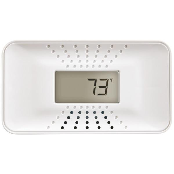 first alert carbon monoxide alarm with temperature digital display