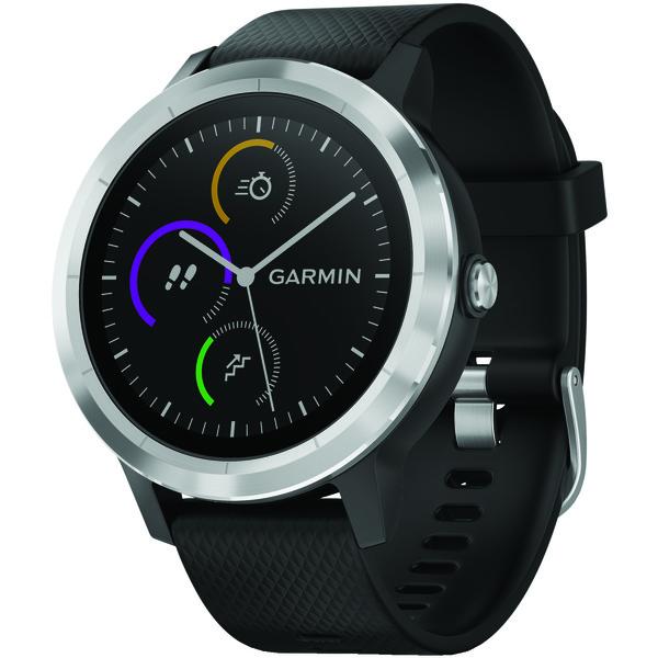garmin vivoactive 3 (black with stainless hardware)