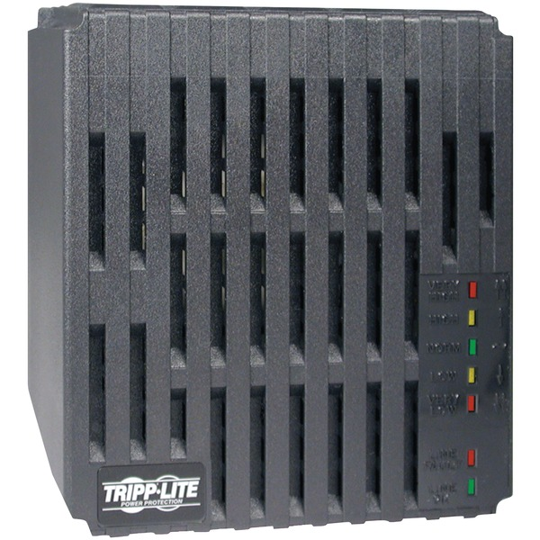 tripp lite 1,800-watt 120-volt line conditioner with 6 outlets, 7-foot cord