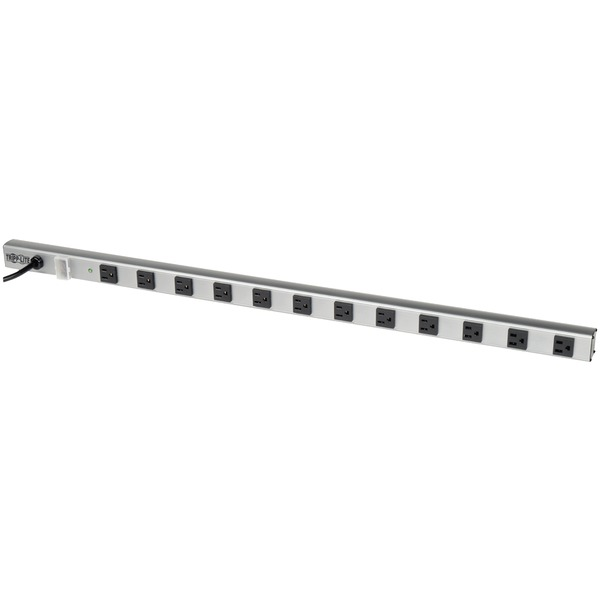 tripp lite 36-inch 12-outlet power strip with surge protection, 15-foot cord