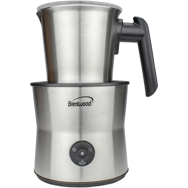 brentwood appliances 15-ounce cordless electric milk frother, warmer and hot chocolate maker