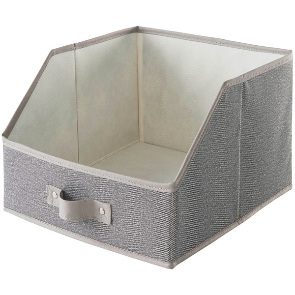 neatfreak harmony twill collection large easy-view bin drawer for use with closet organizers
