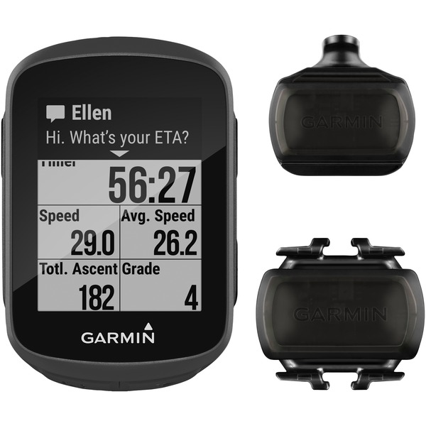 garmin edge 130 gps receiver for cyclists with sensor bundle