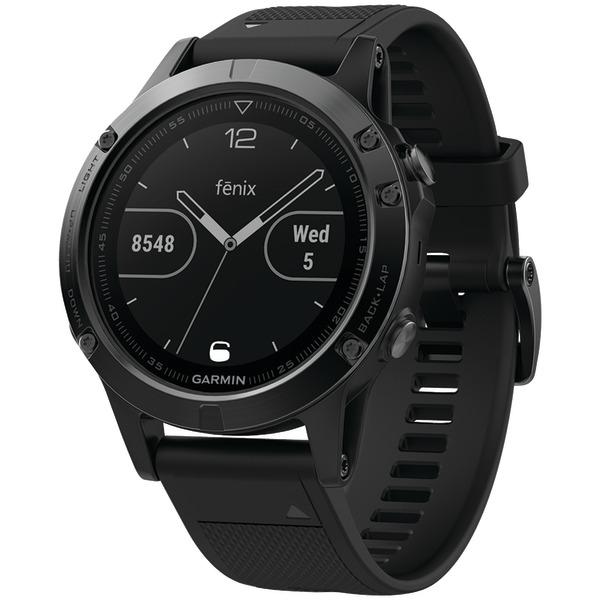 garmin fenix 5 47mm multisport gps watch sapphire edition