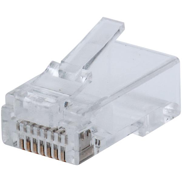 intellinet network solutions fastcrimp cat-6 rj45 modular plugs (100-pack)
