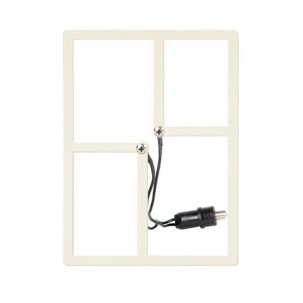 hd frequency cable cutter metro indoor and outdoor hdtv antenna (white)