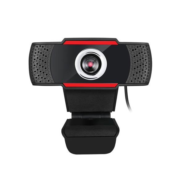 adesso cybertrack h3 desktop 720p usb webcam with built-in microphone