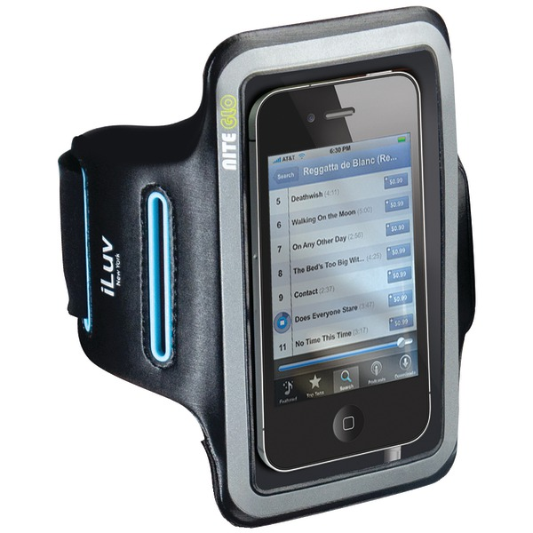 iluv iphone 5 and 5s sport armband (black)