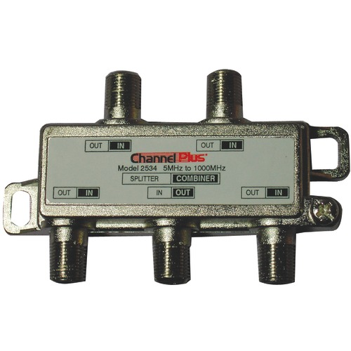 channel plus splitter and combiner (4 way)